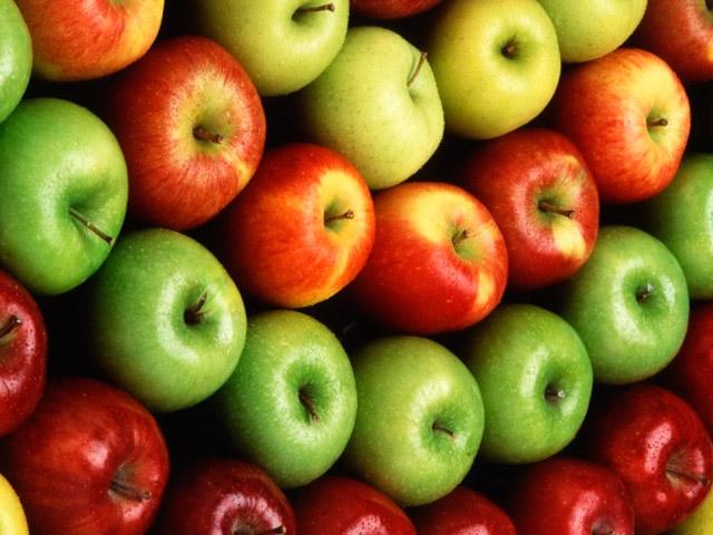 Яблоки разных видов для СД