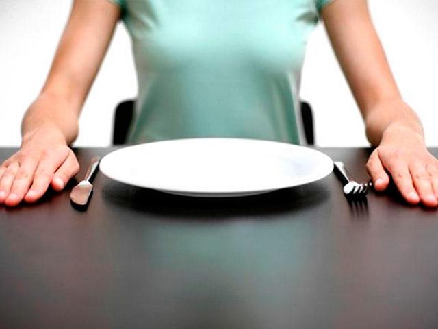 Пустая тарелка при сахарном диабете 2 типа