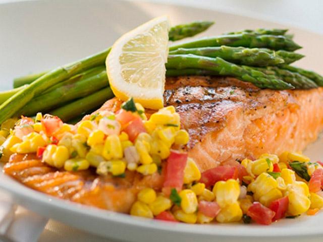 Приготовленная рыба для дииабетиков