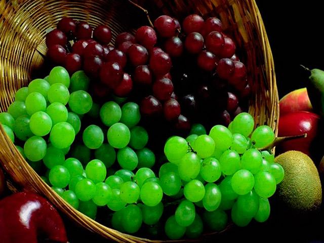 Виноград и глюкоза