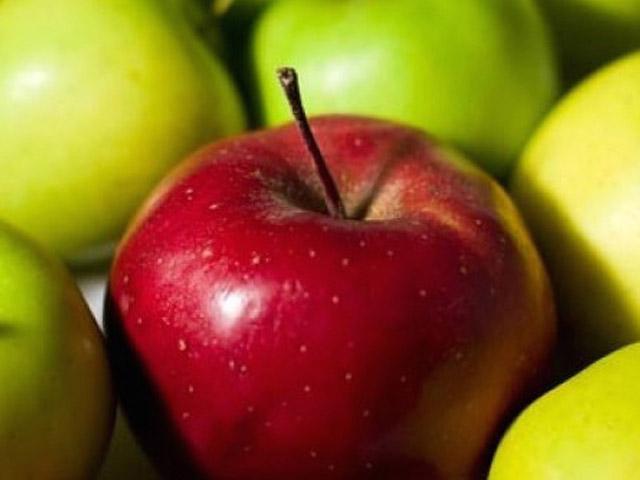 Красное яблоко для диабетиков