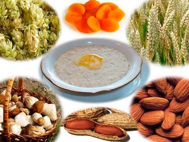 Разная еда и содержание глюкозы