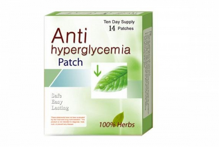 anti-hyperglycemia-patch