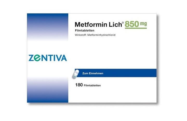 метформин зентива